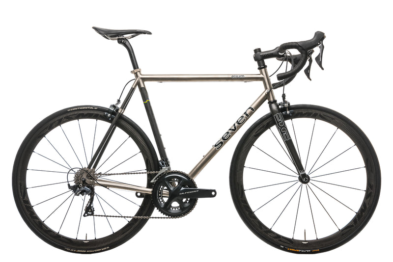 Seven Cycles Elium Road Bike - Large drive side