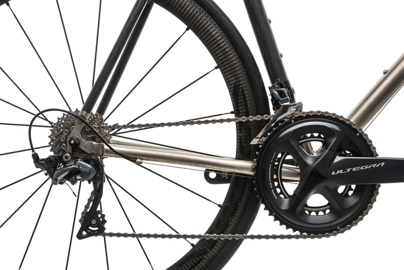 Seven Cycles Elium Road Bike - Large drivetrain