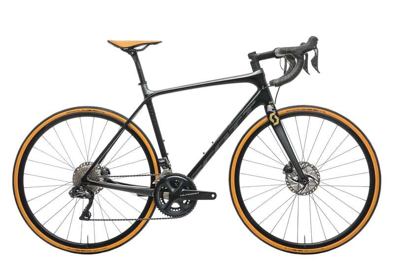 Scott Addict SE Disc Road Bike - 2020, 54cm drive side