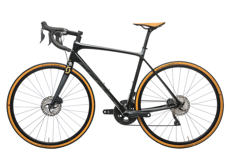 Scott Addict SE Disc Road Bike - 2020, 54cm non-drive side