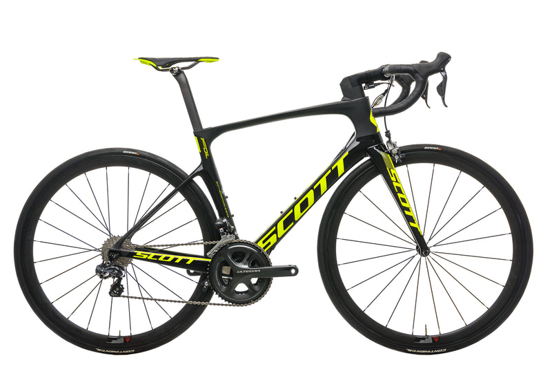 Scott Foil 10 Road Bike - 2017, Medium drive side