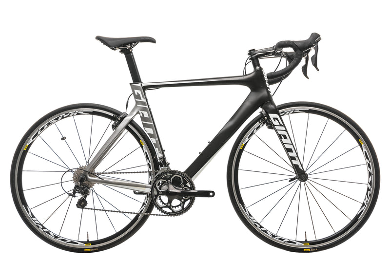 Giant Propel Advanced 2 Road Bike - 2016, Medium drive side