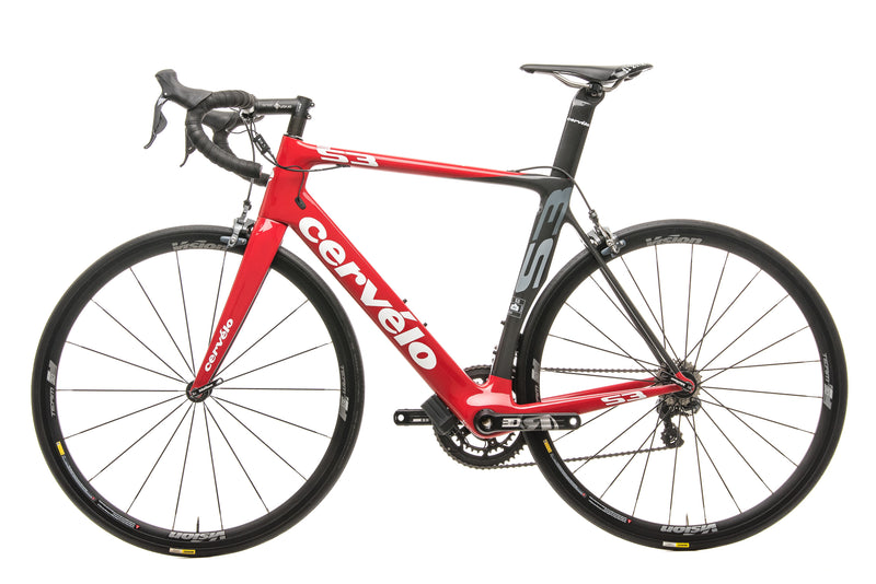 Cervelo S3 Road Bike - 2015, 56cm non-drive side