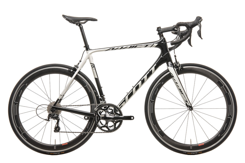 Scott Addict 30 Road Bike - 2015, X-Large drive side