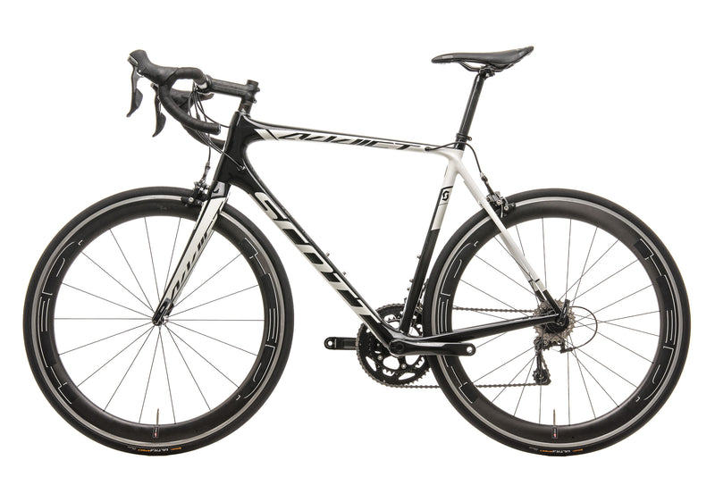 Scott Addict 30 Road Bike - 2015, X-Large non-drive side