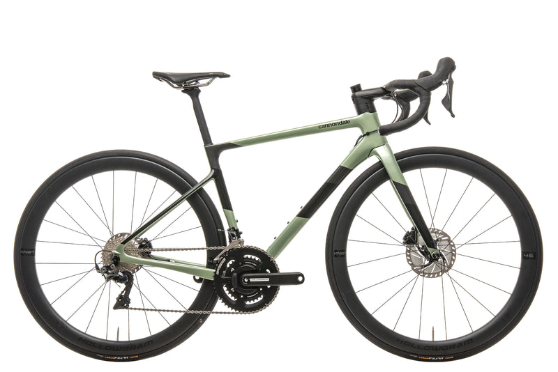 Cannondale SuperSix EVO Hi-MOD Disc Road Bike - 2020, 48cm drive side