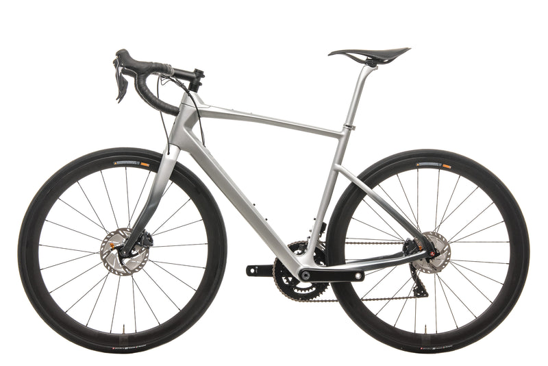 Argon 18 Mercedes-Benz Style Silver 47 Krypton GF Disc Di2 Road Bike - 2019, Medium non-drive side