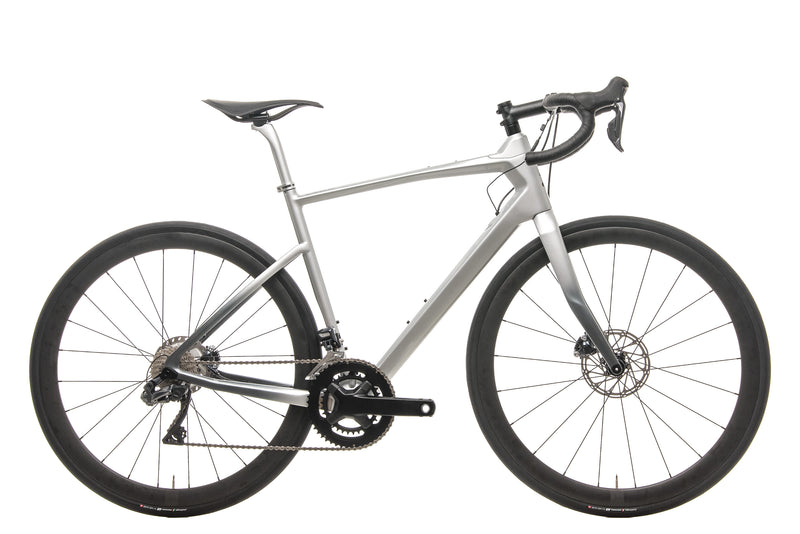Argon 18 Mercedes-Benz Style Silver 47 Krypton GF Disc Di2 Road Bike - 2019, Medium drive side