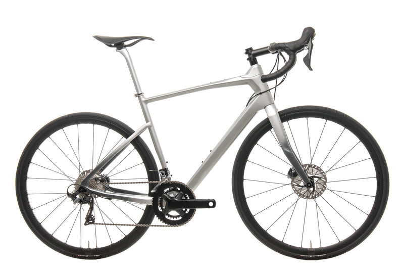 Argon 18 Mercedes-Benz Style Silver 47 Krypton GF Disc Road Bike - 2019, Medium drive side