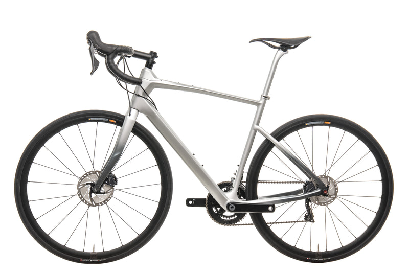 Argon 18 Mercedes-Benz Style Silver 47 Krypton GF Disc Road Bike - 2019, Medium non-drive side