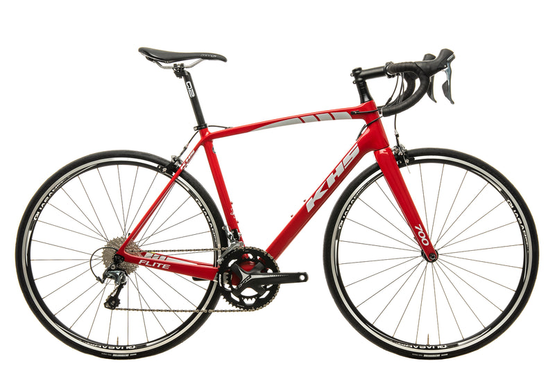 KHS Flite 700 Road Bike - 2018, 54cm drive side
