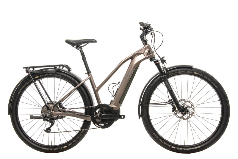 Cannondale Tesoro Neo X 1 Remixte Urban E-Bike - 2020, Small drive side