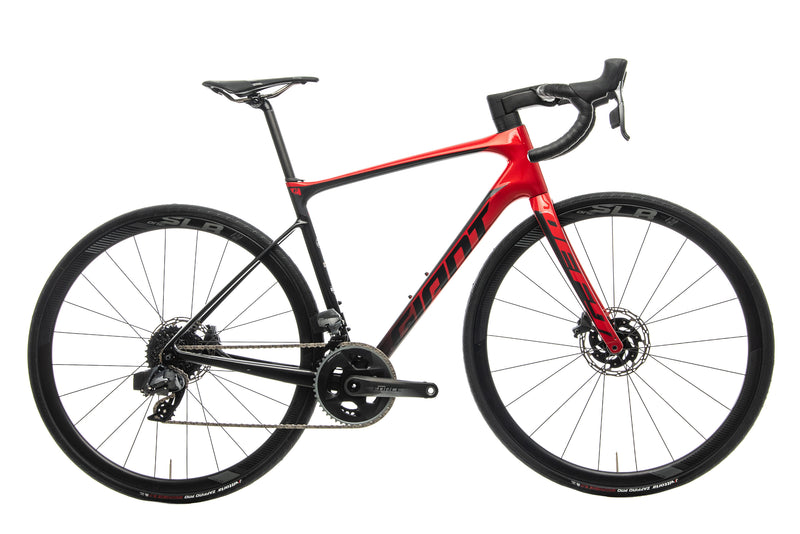 Giant Defy Advanced Pro 1 Force Road Bike - 2020, Medium drive side