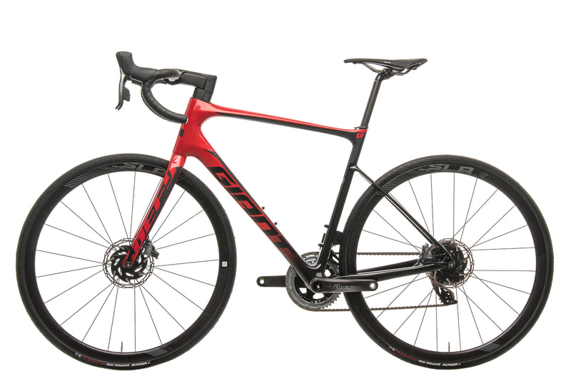 Giant Defy Advanced Pro 1 Force Road Bike - 2020, Med/Large non-drive side