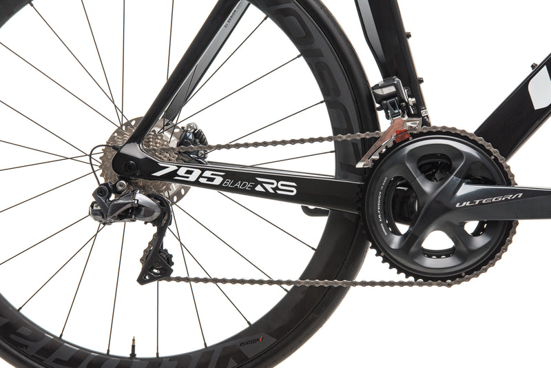 Look 795 Blade RS Disc Proteam Road Bike - 2019, X-Large drivetrain
