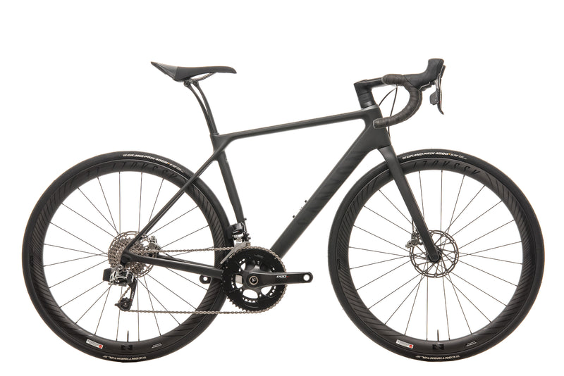 Canyon Endurace CF SLX Disc 9.0 eTap Road Bike - 2018, Small drive side