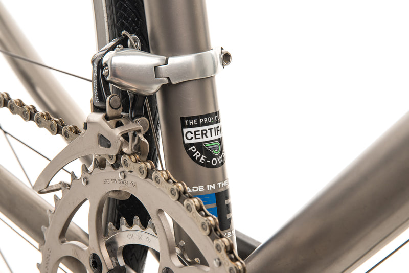 Eriksen Custom Titanium Road Bike - 2008, Large sticker