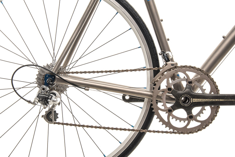 Eriksen Custom Titanium Road Bike - 2008, Large drivetrain
