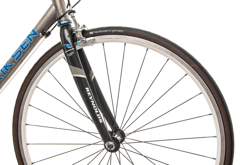 Eriksen Custom Titanium Road Bike - 2008, Large front wheel
