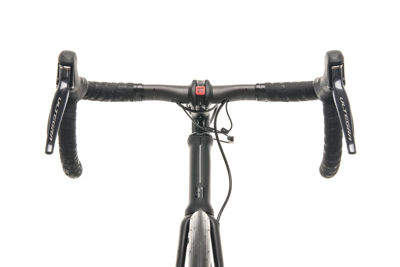 3T Strada Due Team Stealth Ultegra Di2 Road Bike - 2020, Medium cockpit