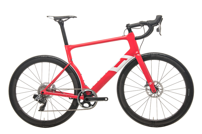 3T Strada Team Red AXS eTap Road Bike - 2020, X-Large drive side