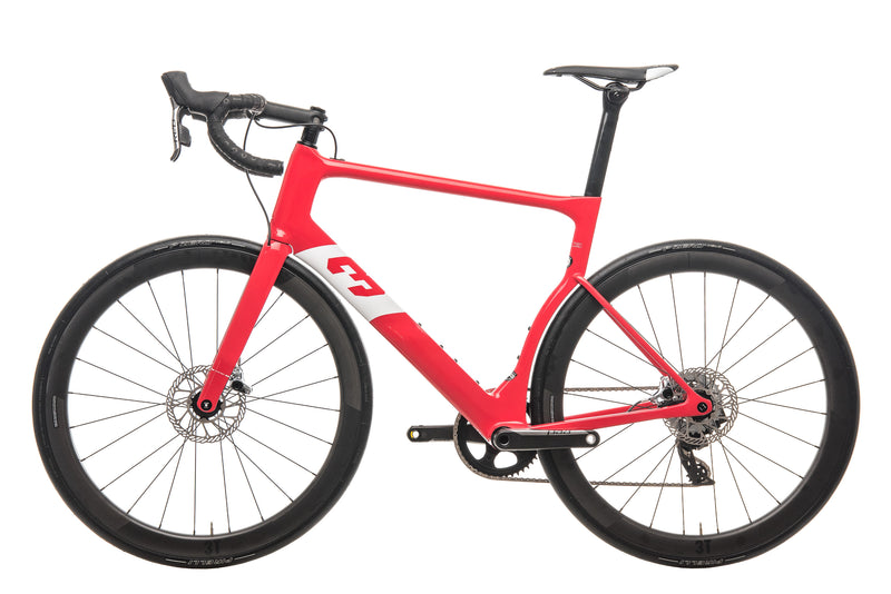3T Strada Team Red AXS eTap Road Bike - 2020, X-Large non-drive side