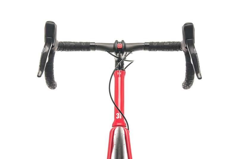 3T Strada Team Red AXS eTap Road Bike - 2020, X-Large cockpit