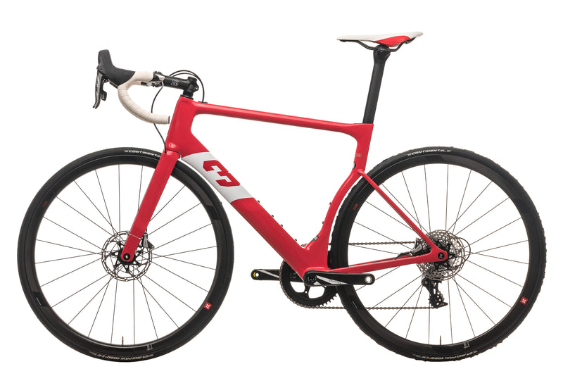 3T Strada Team Force Road Bike - 2020, Large non-drive side