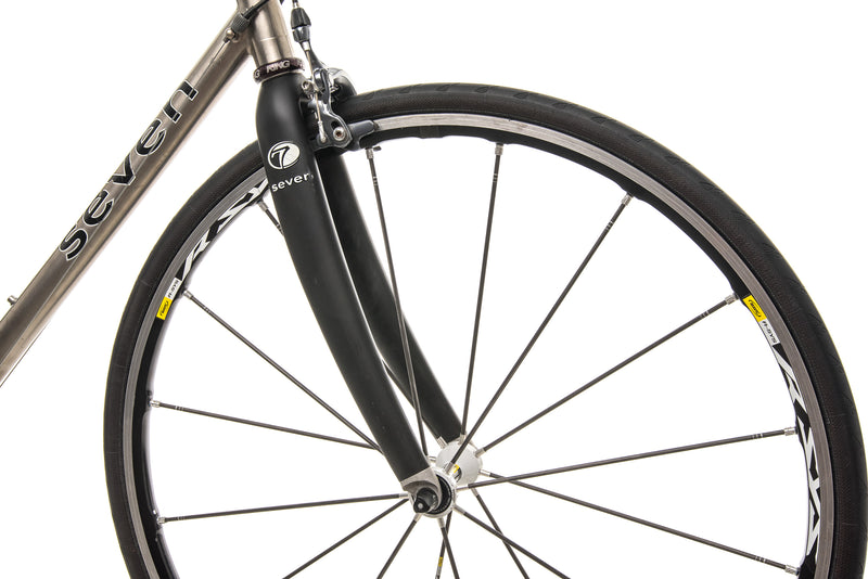 Seven Axiom SG Custom Road Bike - 2004, Large front wheel