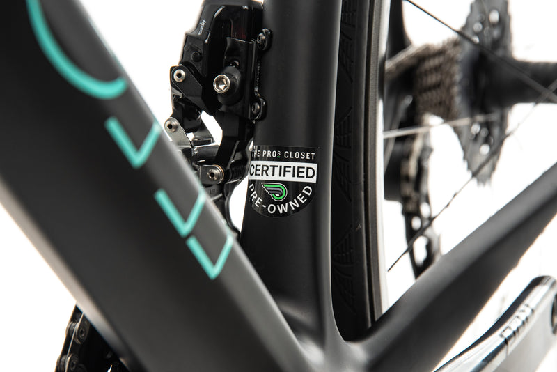 Bianchi Specialissima Red eTap AXS Road Bike - 2017, 57cm sticker