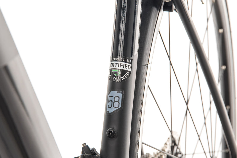 Cannondale SuperSix EVO 105 Road Bike - 2020, 58cm sticker