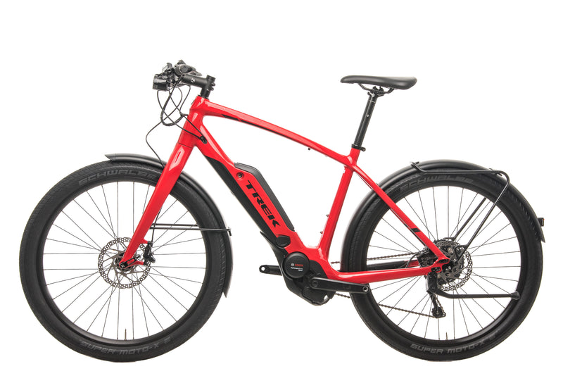 Trek Super Commuter+ 8 Urban E-Bike - 2019, 55cm non-drive side