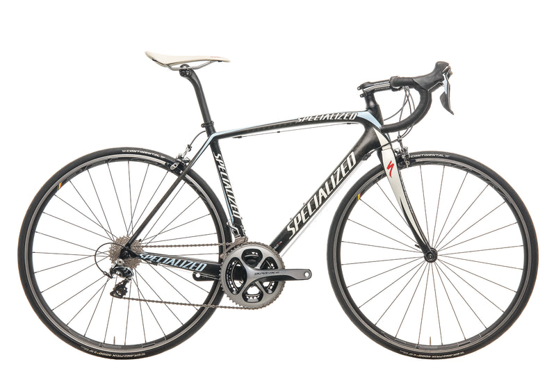 Specialized Tarmac Elite Mid-Compact Team Saxo Road Bike - 2012, 54cm drive side