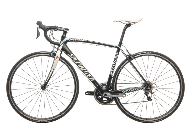Specialized Tarmac Elite Mid-Compact Team Saxo Road Bike - 2012, 54cm non-drive side
