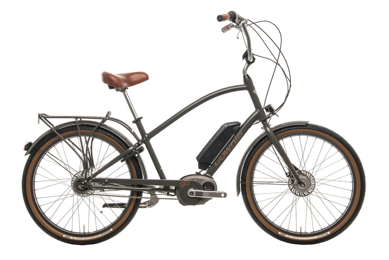 Electra Townie Go! 8i Cruiser E-Bike - 2016, One Size drive side