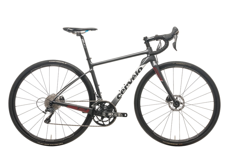Cervelo C3 Ultegra Disc Road Bike - 2017, 48cm drive side