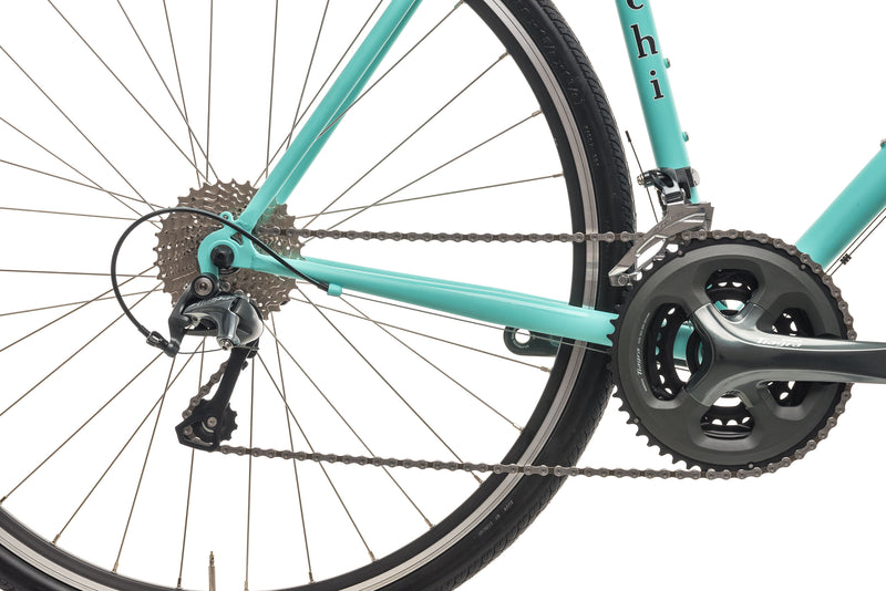 Bianchi Volpe Classic All-Road Bike - 2019, 55cm drivetrain