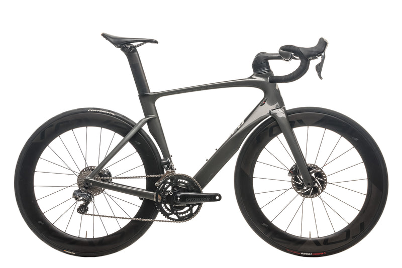 Specialized Venge ViAS Pro Ultegra Di2 Road Bike - 2017, 56cm drive side