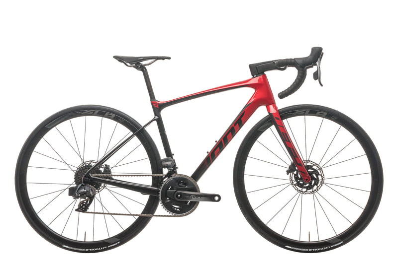 Giant Defy Advanced Pro 1 Road Bike - 2020, Small drive side