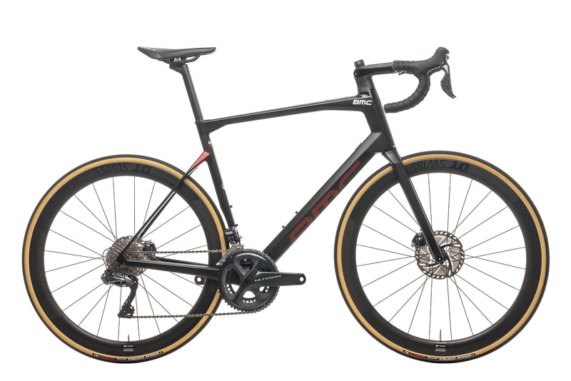 BMC RoadMachine 01 Four Road Bike - 2020, 58cm drive side