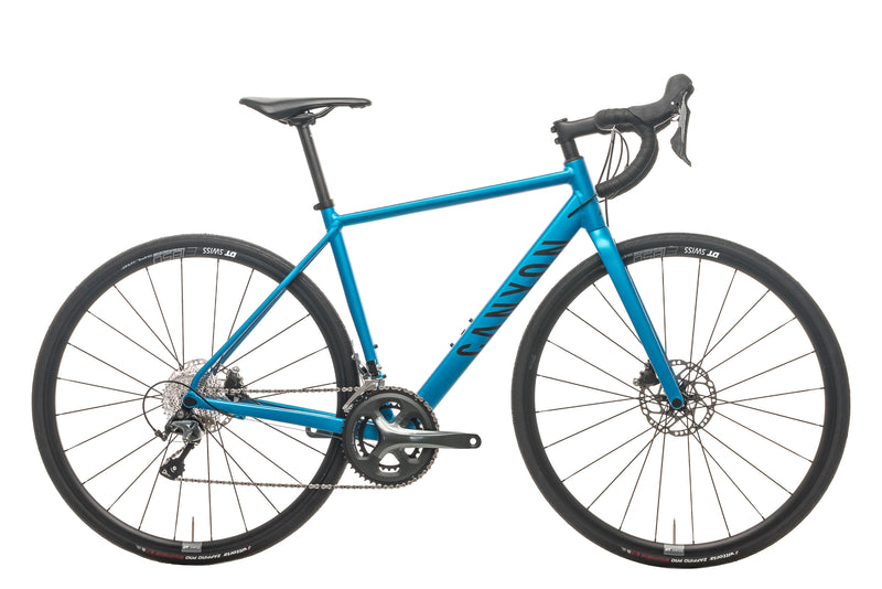 Canyon Endurace AL Disc 6.0 Road Bike - 2020, Small drive side