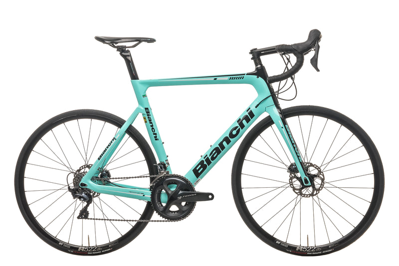 Bianchi Aria Disc Ultegra Road Bike - 2020, 59cm drive side