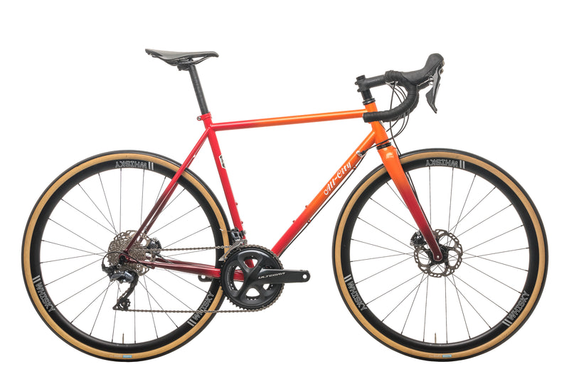 All-City Zig Zag Ultegra Road Bike - 2020, 52cm drive side