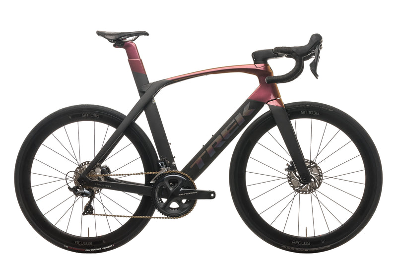 Trek Madone SLR 6 Disc Project One Road Bike - 2019, 58cm drive side