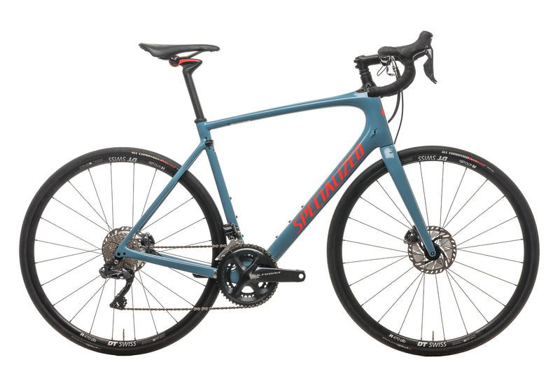 Specialized Roubaix Comp Ultegra Di2 Road Bike - 2019, 58cm drive side