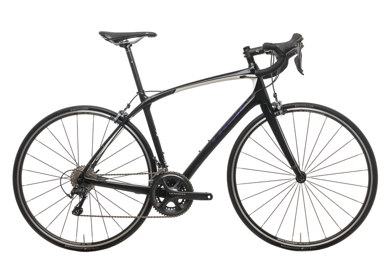 Trek Silque S Womens Road Bike - 2017, 54cm drive side