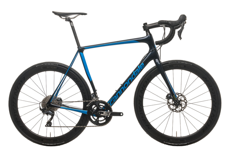 Cannondale Synapse Carbon Disc Ultegra Road Bike - 2019, 58cm drive side
