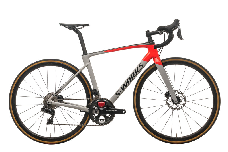 Specialized S-Works Roubaix Dura-Ace Di2 Road Bike - 2020, 54cm drive side