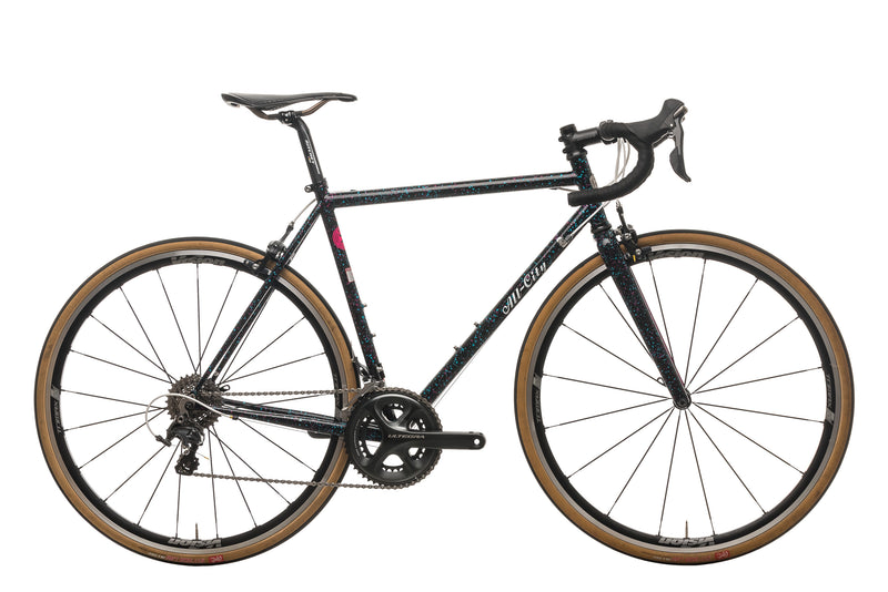All-City Mr. Pink 10th Anniversary Road Bike - 2019, 52cm drive side