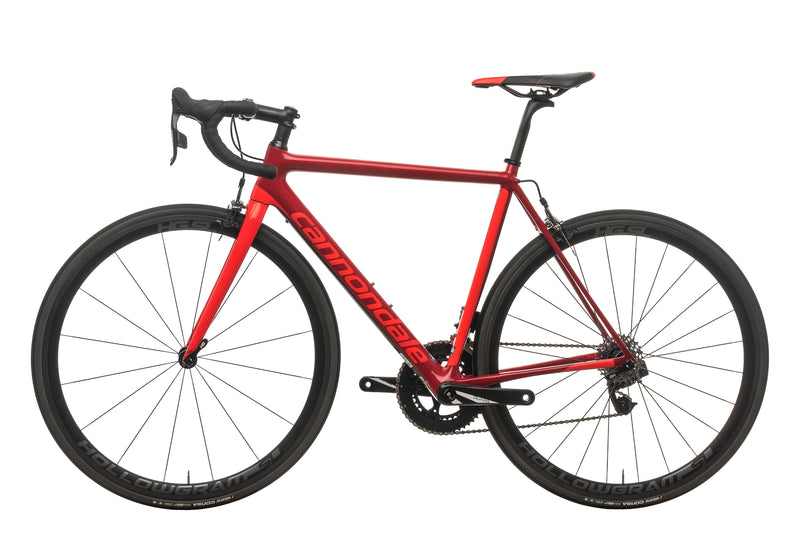 Cannondale SuperSix EVO Red eTap Road Bike - 2018, 52cm non-drive side